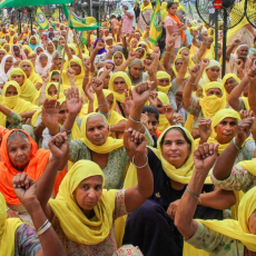 PROTESTS INTENSIFIE AGAINST MODI'S ANTI-FARMER AND CORPORATE-FRIENDLY REFORMS